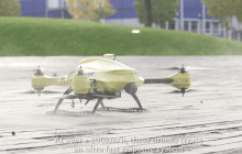 Ambulance Drone Could Deliver Life-Saving Care in Under a Minute