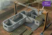 Best of 2014: Concrete 3D Printer Can Build Homes In Less Than One Day