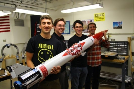 ASTRo (Actively Stabilized Test Rocket)