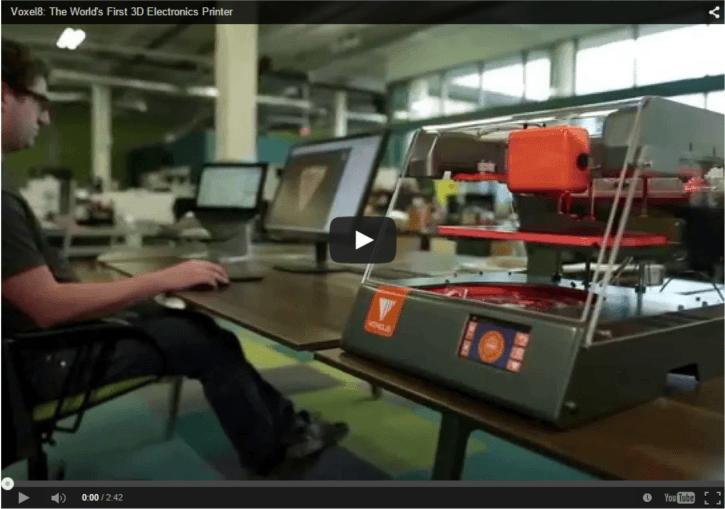 Voxel8 3D Electronic Printer