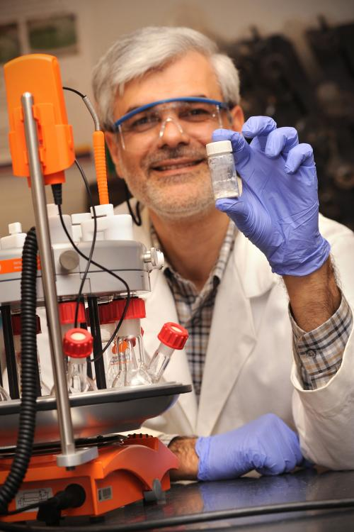 NMSU researcher's patented tech could significantly cut CO2 emissions