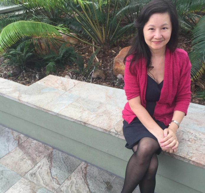 This is Dr. Qin Li, from Griffith University's Queensland Micro- and Nanotechnology Centre. CREDIT Griffith University