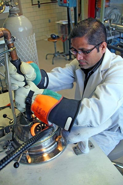 Ames Laboratory scientists create cheaper magnetic material for cars, wind turbines