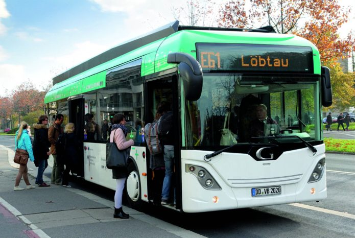 Since February of this year, EDDA Bus serves a new 20-kilometer route. © Fraunhofer IVI