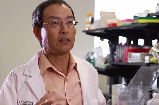 Yingfu Li is a professor in the Departments of Biochemistry and Biomedical Sciences, Chemistry and Chemical Biology. CREDIT McMaster University