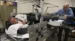 Working out in artificial gravity