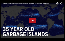 Watch The Swirling Islands Of Plastic Trash That Are Filling Up Our Oceans