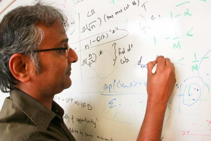 Suresh Venkatasubramanian, an associate professor in the University of Utah's School of Computing, leads a team of researchers that have discovered a technique to determine if algorithms used for tasks such as hiring or administering housing loans could in fact discriminate unintentionally. The team also has discovered a way to fix such errors if they exist. Their findings were recently revealed at the 21st Association for Computing Machinery's SIGKDD Conference on Knowledge Discovery and Data Mining in Sydney, Australia.