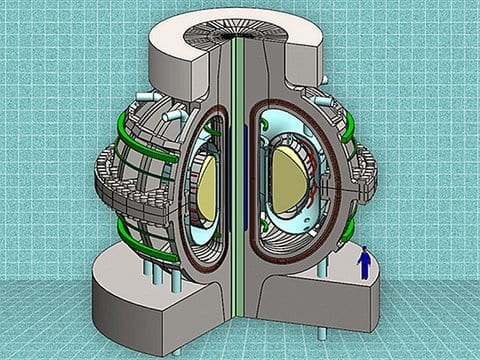 A new design for a compact, affordable fusion reactor from a team at the Massachusetts Institute of Technology.Credit MIT ARC team