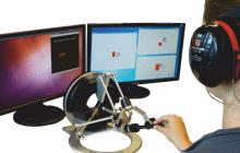 Robotically Steered Flexible Needles Navigate in Tissue