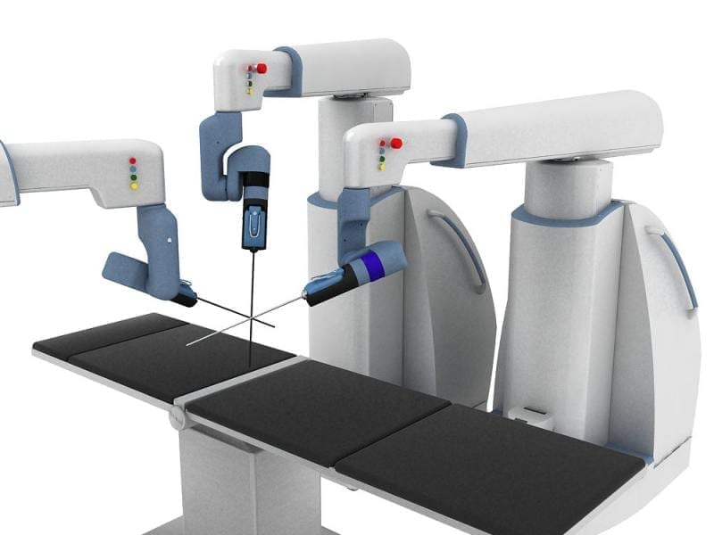 New Robotic Surgery Tool Using Eye-tracking and Haptics