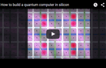 Researchers design architecture for a quantum computer in silicon