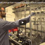 ORNL technique could set new course for extracting uranium from seawater