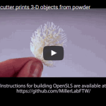 Bioengineers make open-source laser, OpenSLS, sintering 3D printer for biomaterials fabrication