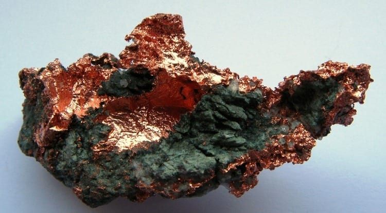 Native copper (Image credit: Wikimedia)