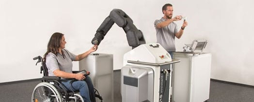 How to make working with robots appealing for manufacturing employees, including those with severe disabilities