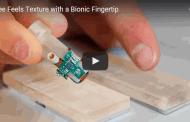 New bionic fingertip can 'feel' texture