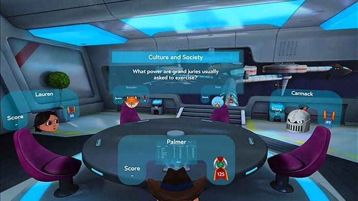 Oculus is amping up the Gear VR as a social platform, ahead of the Oculus Rift's late March launch.