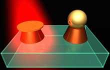 Hybrid nanoantennas -- next-generation platform for ultradense data recording