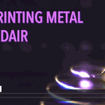 3D Printing metal in midair for customized electronic and biomedical devices