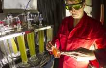 LED lighting stimulates microalgae to produce everything from food to fuel