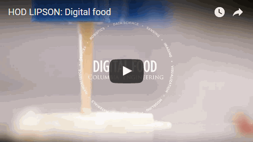 Hod Lipson: Digital Food —Video by Jane Nisselson