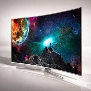 Harvard University researchers have designed more than 1,000 new blue-light emitting molecules for organic light-emitting diodes (OLEDs) that could dramatically improve displays for televisions, phones, tablets and more (Image courtesy of Samsung)