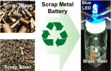 From the Junkyard to the Power Grid with Scrap-Metal Batteries