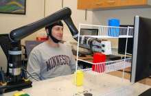 Controlling a robotic arm with your mind