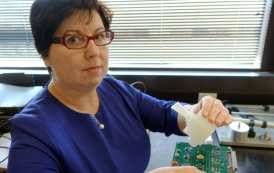 Invention of a hand-held breath monitor that can detect the flu virus