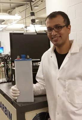 Low cost, rechargeable, high energy density battery makes the widespread use of solar and wind power possible in the future