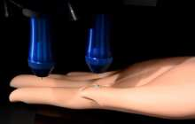 Stretchable bionic skin could give robots the ability to feel their environment