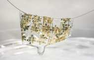 A new semiconductor is as flexible as skin and easily degradable