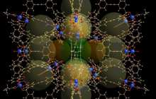 Giant molecular cages with huge surface area for energy conversion and drug delivery