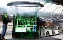 A bus runs on hydrozine - formic acid that is sustainable, CO2-neutral, safe and liquid
