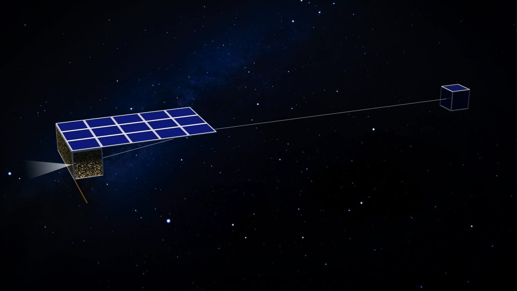 Asteroid Touring Nanosat Fleet could visit 300 asteroids in 3 years
