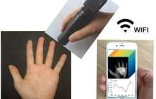 Wireless handheld spectrometer costs less than $300 and can enable remote medical diagnostics