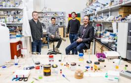 Researchers program biomaterials with logic gates that release therapeutics in response to environmental triggers