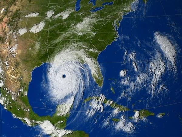 Could air bubbles prevent hurricanes?