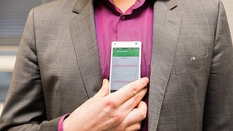 A new phone application can detect atrial fibrillation that causes strokes with no extra equipment