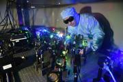 Nanoparticle films for high-density data storage offer 1000 times more data than a DVD in a 10-by-10-centimeter piece of film