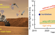 Swarms of winged flyers for Mars exploration