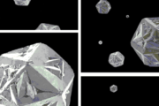 Broken nanodiamonds get close to being a forever superlubricant
