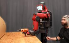 Instantly correcting robot mistakes with nothing more than brain signals and the flick of a finger