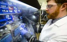 Doubling performance of batteries with lithium metal that doesn't catch fire