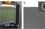 An ultrathin display that can project dynamic, multi-coloured, 3D holographic images on existing LCD displays