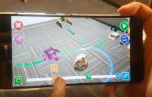 A smartphone app that allows a user to easily program any robot to perform a mundane activity