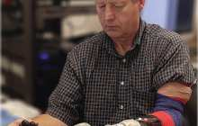 A prosthetic arm that can sense touch and move with your thoughts