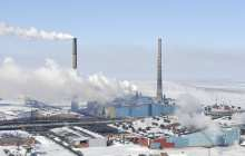 Efficient extraction of methane from permafrost while burying CO2