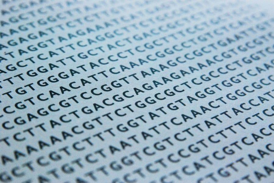 A snapshot of genetic code